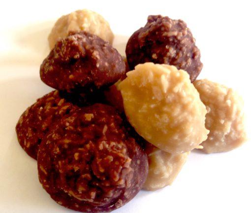 Coconut Haystack Chocolate and Carmel