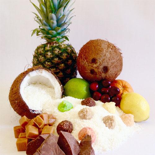 coconut haystacks candy